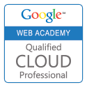 Google Web Academy Qualified Cloud Professional