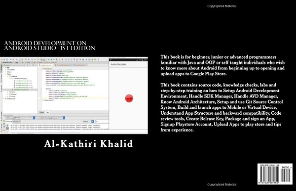 Android Development on Android Studio: Eloquent Droid Book by Khalid Al-Kathiri
